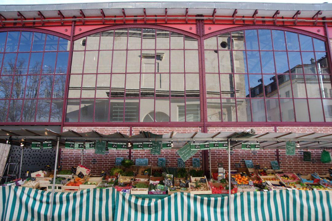 bâtiment du marché de Sceaux