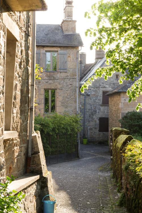 Centre ville de Corrèze