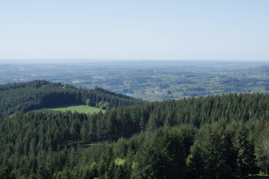 Panorama depuis le Mont Bessou