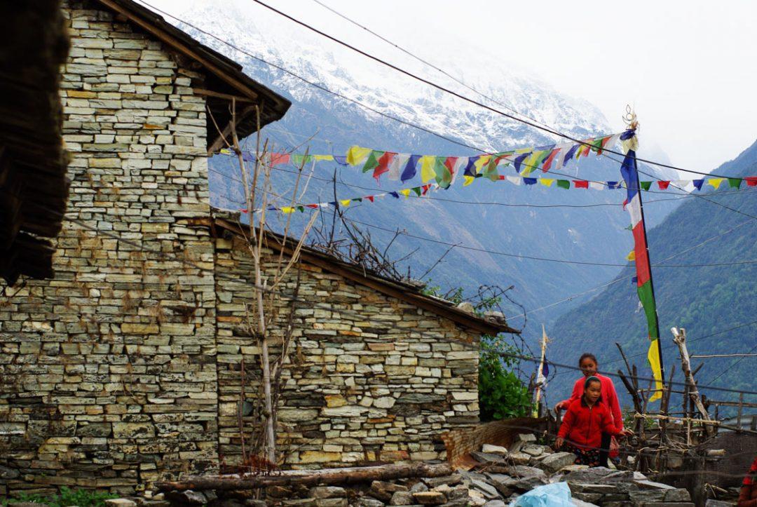 Village de Gandruk - Annapurnas - Népal