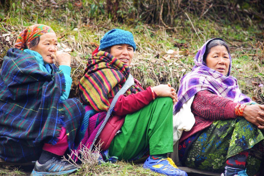 femmes népalaises