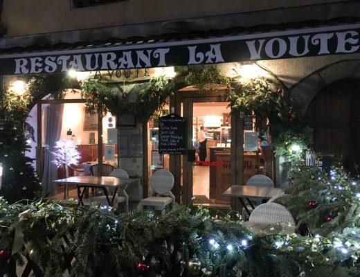 Restaurant La Voute - 172 Grande Rue - Moutiers