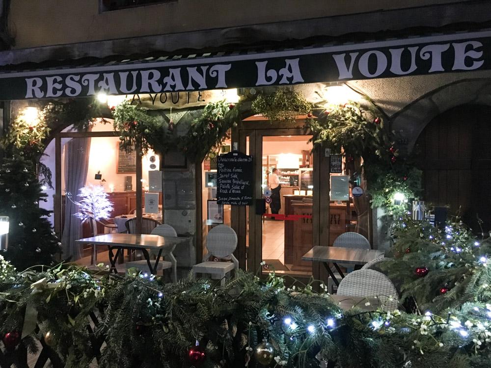 La Voute : la meilleure table de Moutiers en Savoie