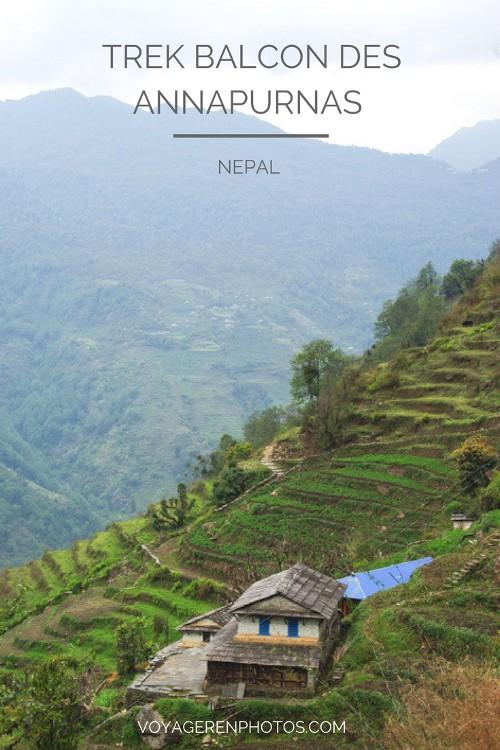 Trek du Balcon des Annapurnas : un trek relativement facile pour découvrir un de plus belles régions du Népal