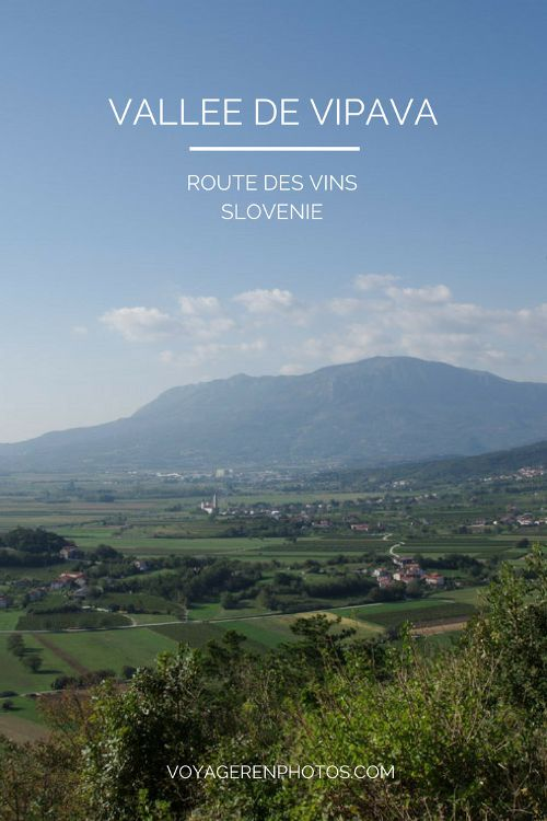 Vallée de la Vipava : randonnée et route des vins en Slovénie
