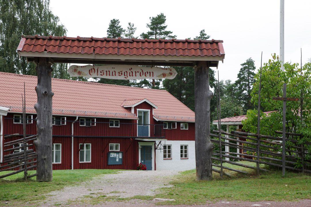 Olsnäsgården - hébergement au bord du lac de Siljan