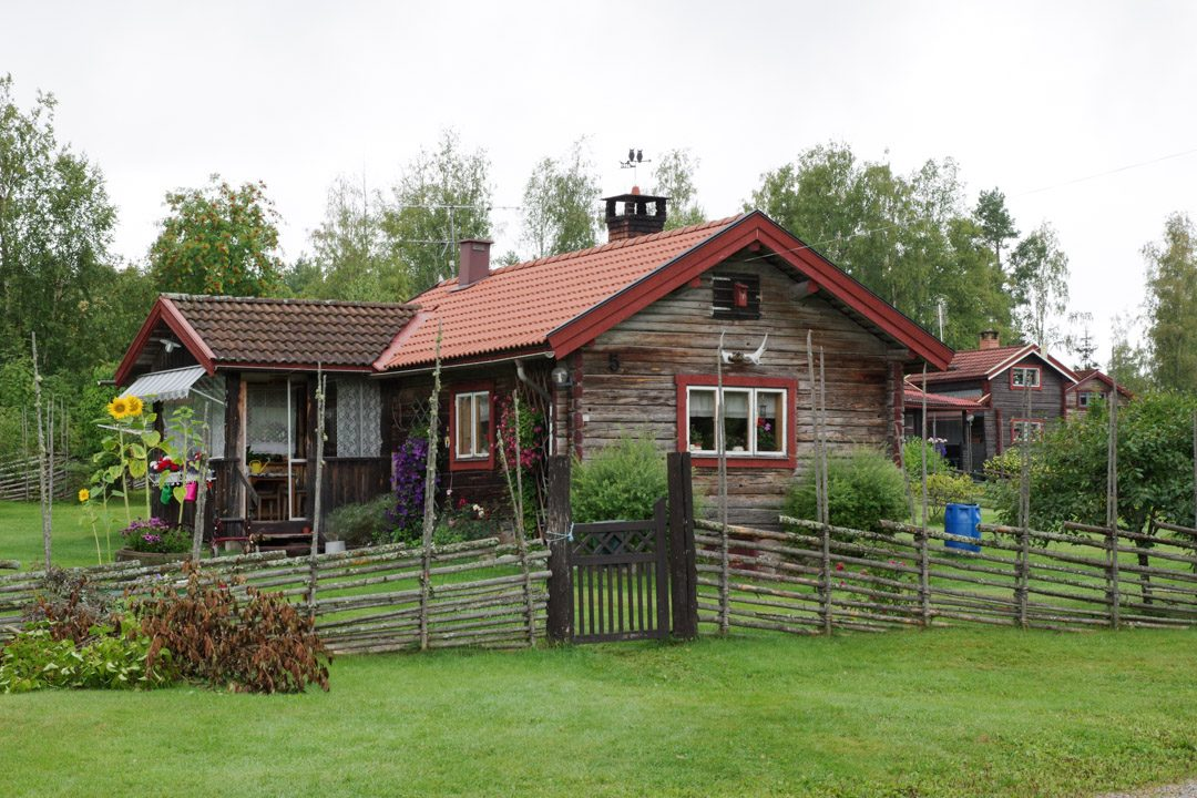 maison suédoise en Dalécarlie