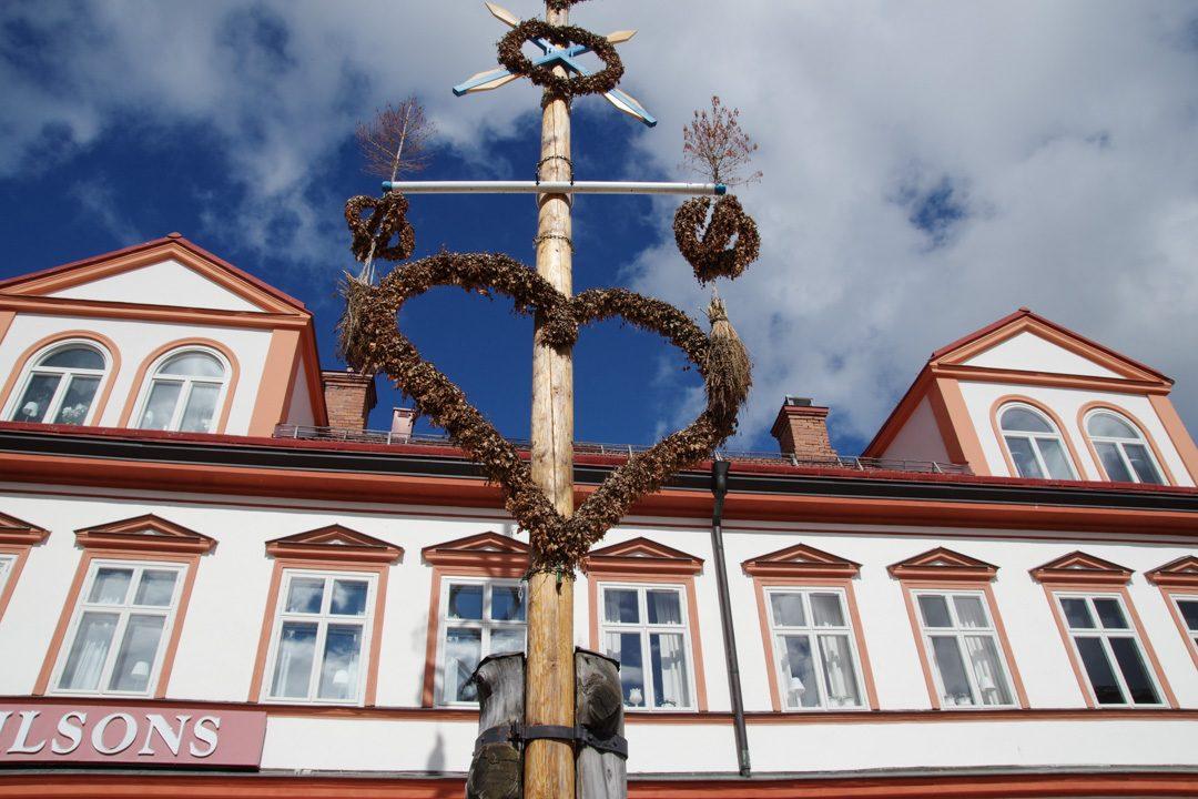 Mat de la Saint Jean - Centre ville de Leksand