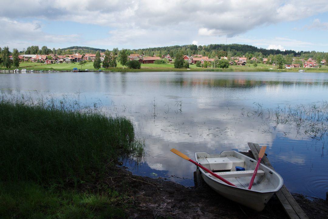 barque de la randonnée Alviken