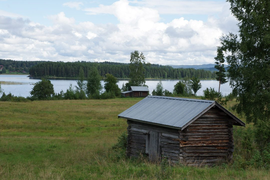 Lac de Siljan - côté Byrviken - Suède