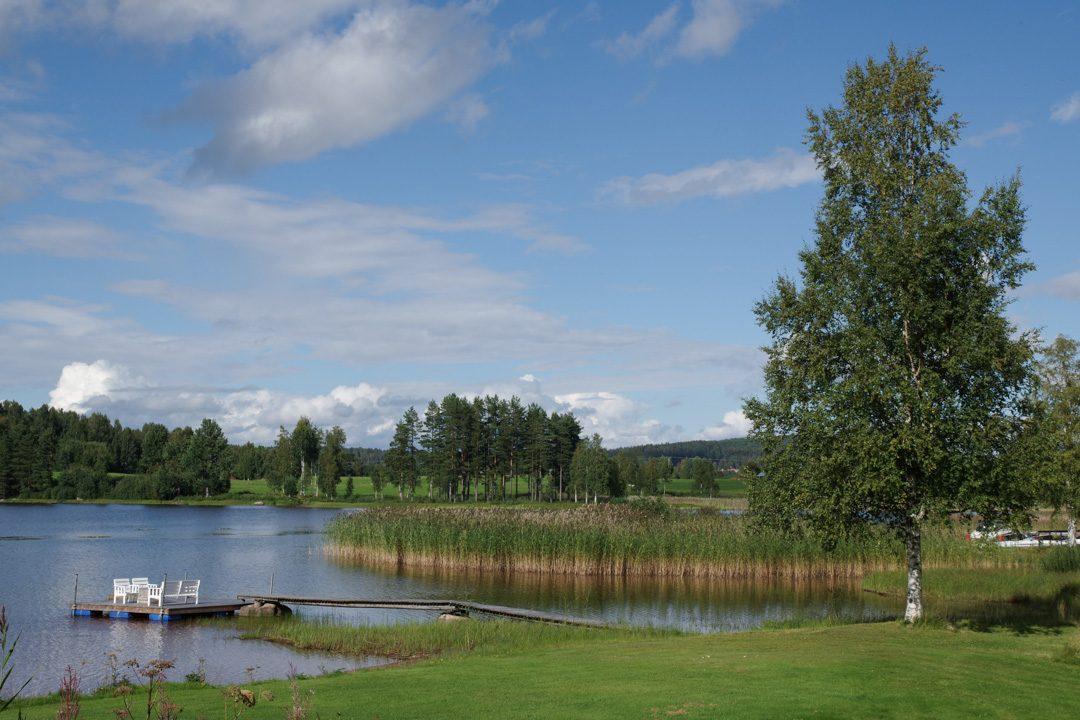 Lac de Siljan - côté Alviken - Suède