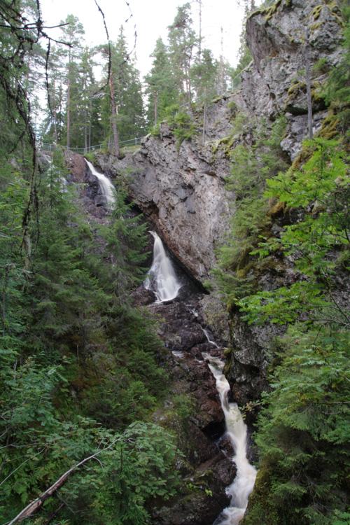 cascade de Styggforsen - Dalécarlie - Suède