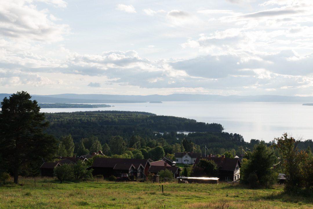Vidablick au bord du lac de Siljan - Suède