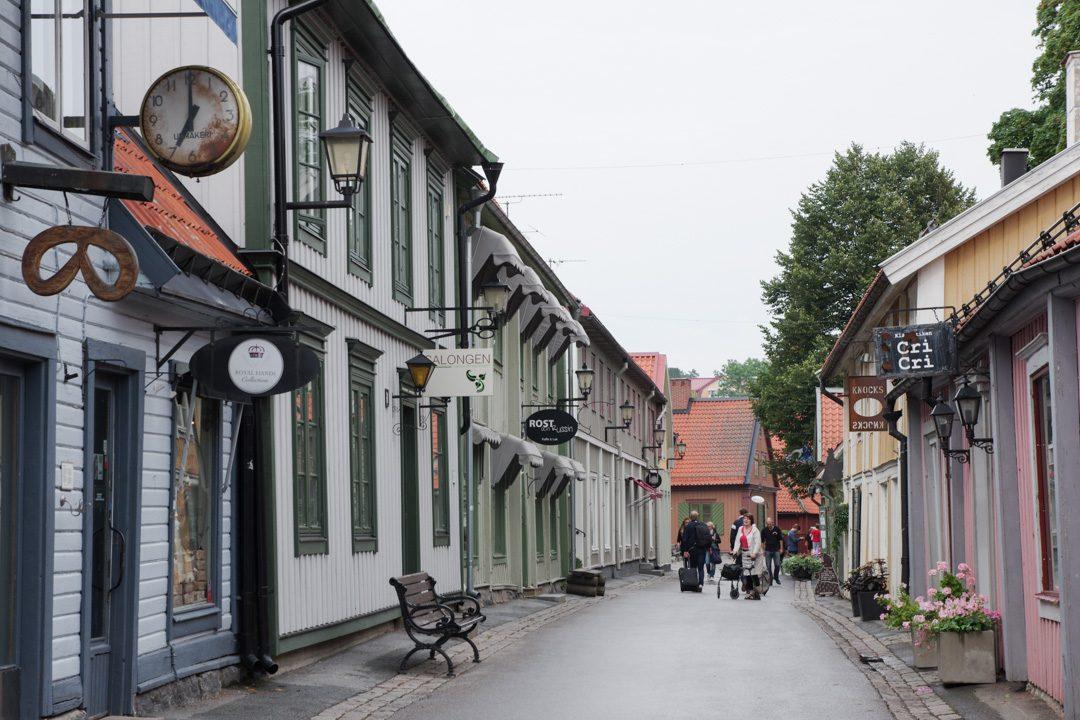 dans les rues de Sigtuna - Suède