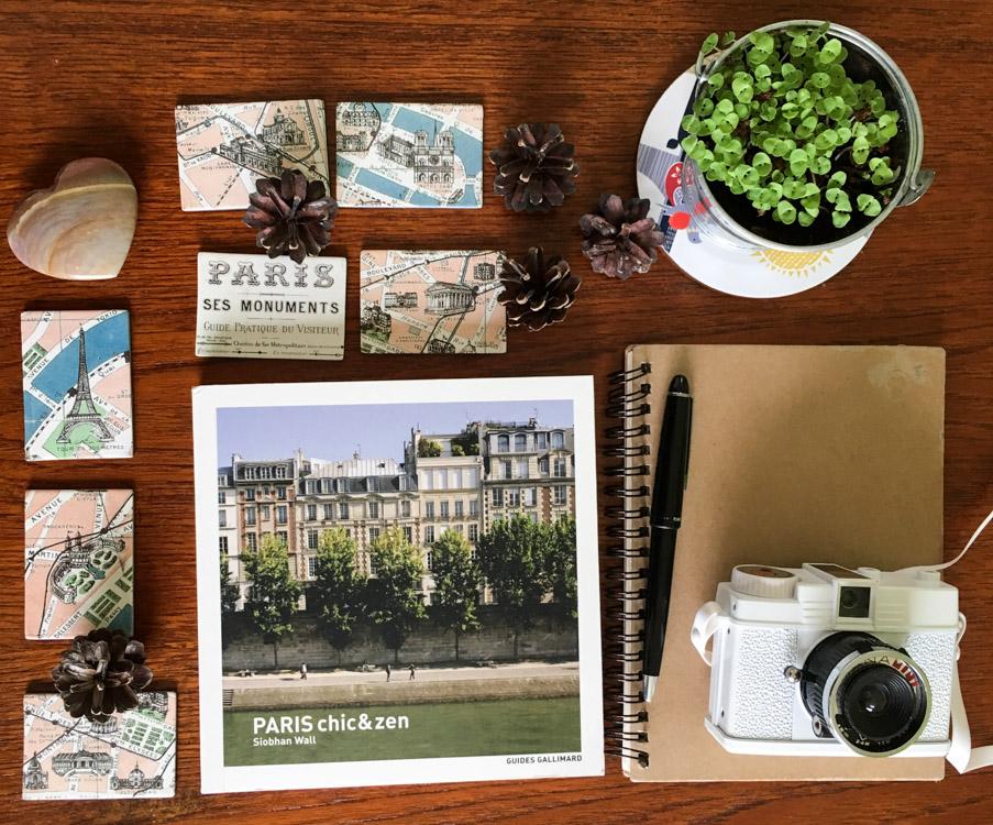 livre paris chic et zen - éditions gallimard