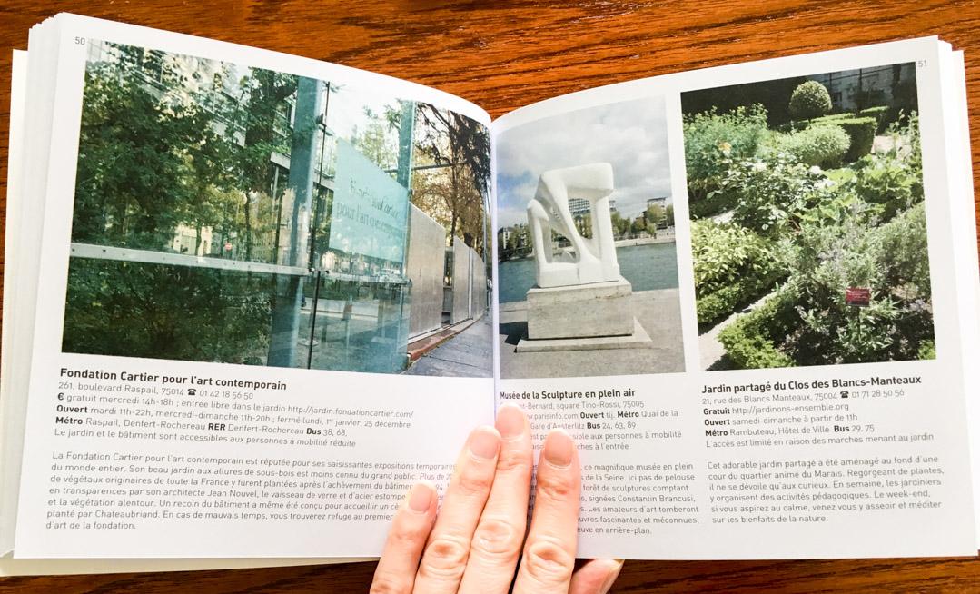 intérieur du livre Paris Chic et Zen