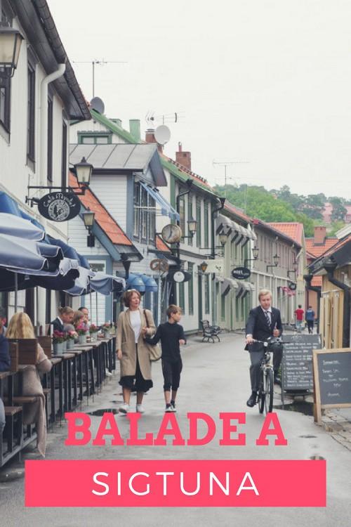 Balade à Sigtuna, la plus vieille ville de Suède