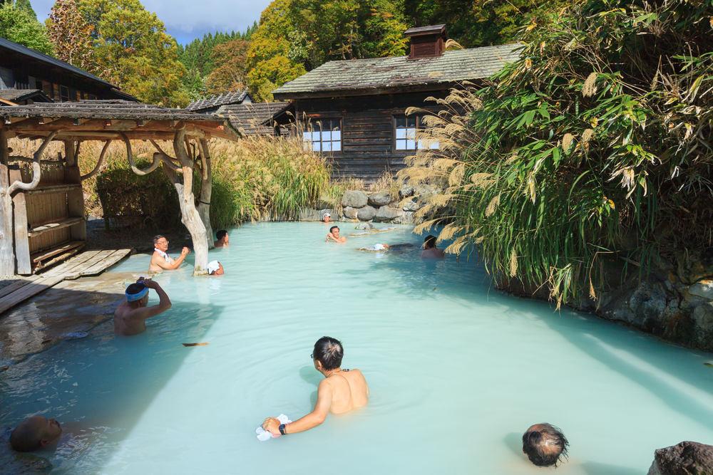 Onsen - Japon - Photo depuis Shutterstock