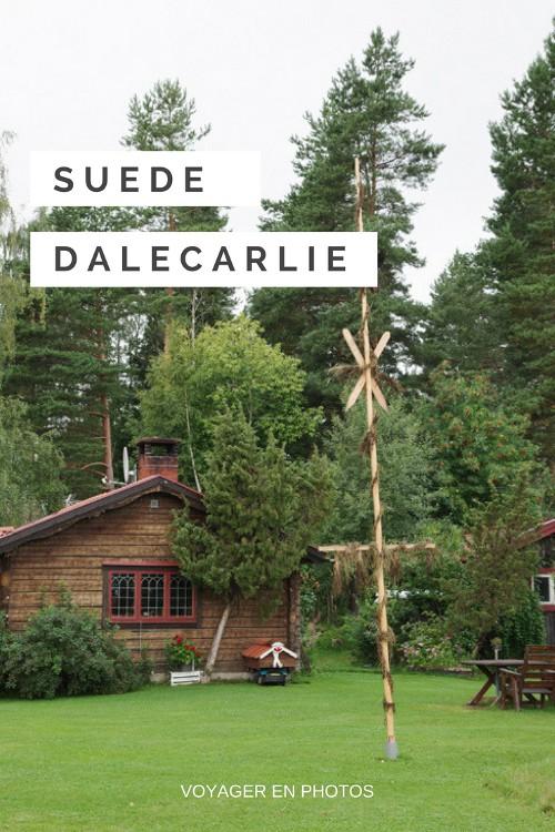 Découverte de la Dalécarlie et du lac de Siljan. Une région traditionnelle de la Suède