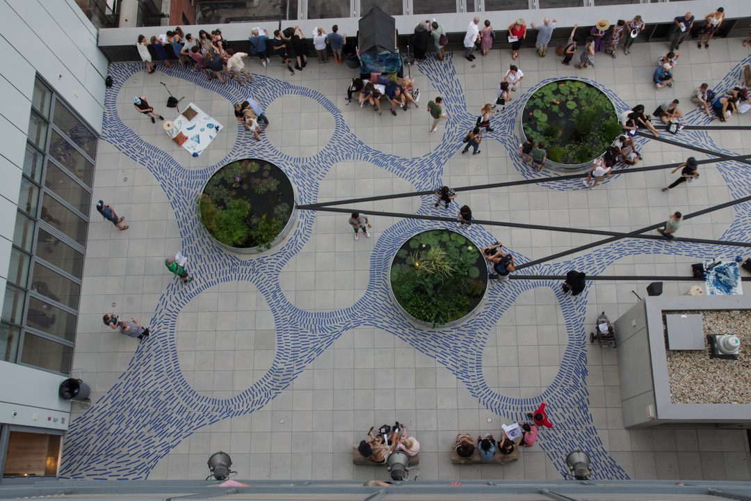 Terrasse du Whitney Museum