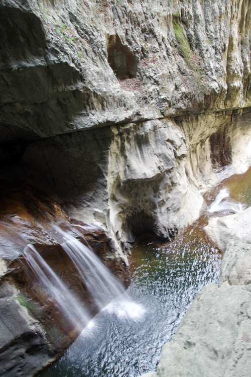 Cascade de la Reka - Grottes de Skocjan - Slovénie