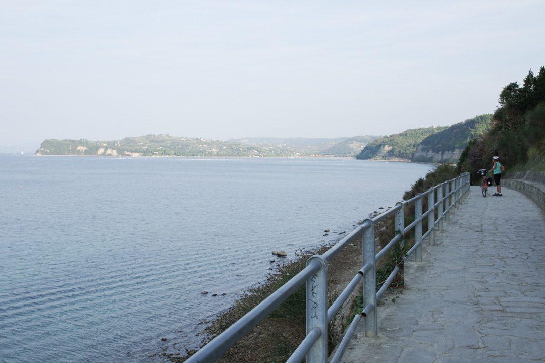 Balade entre Piran et la plage de Fiesa