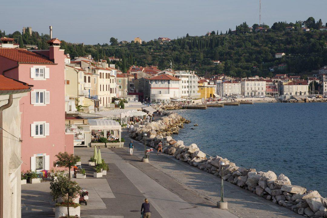 Balade du bord de mer - Piran - Slovénie