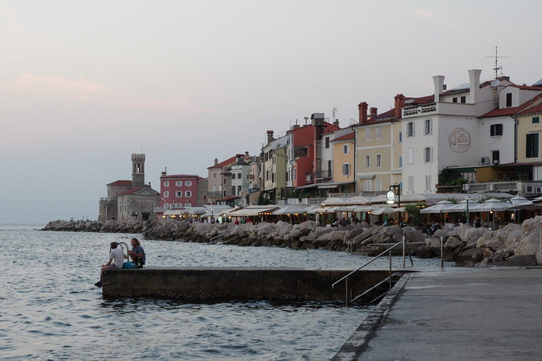 Le bord de mer - Piran - Slovénie