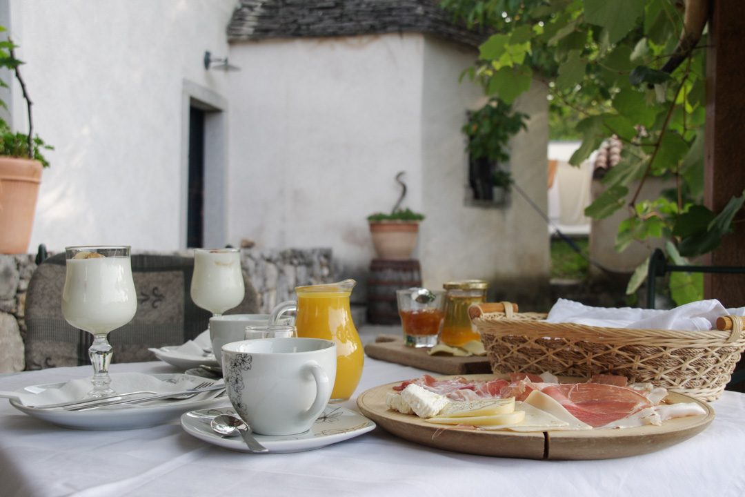 petit déjeuner - b&b Pr Vnkci - Skocjan - Slovénie