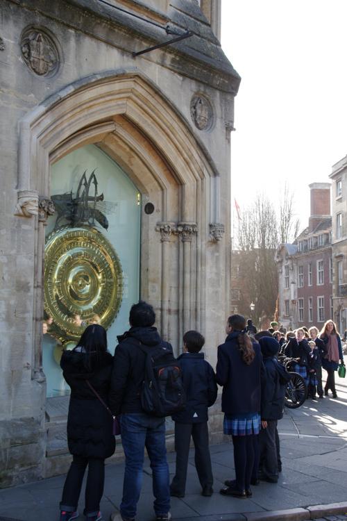 L'horloge de Corpus Christi de Cambridge