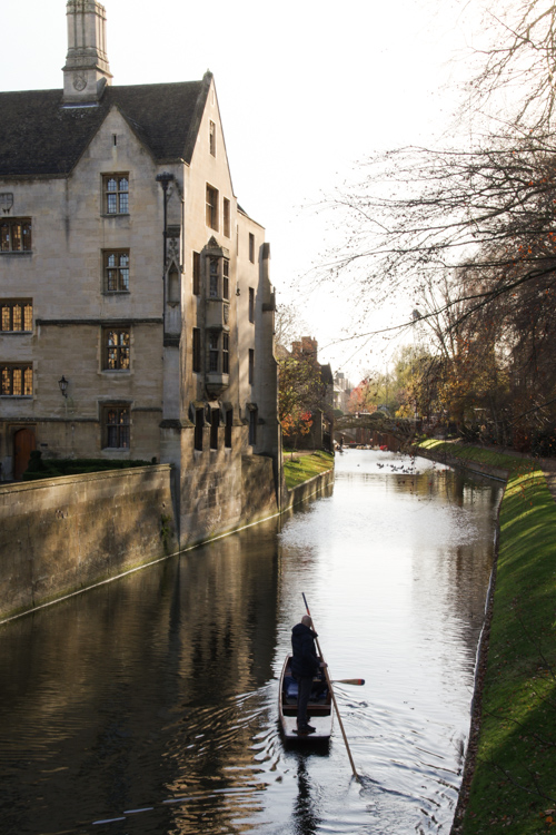 Punting sur la Cam - Cambridge