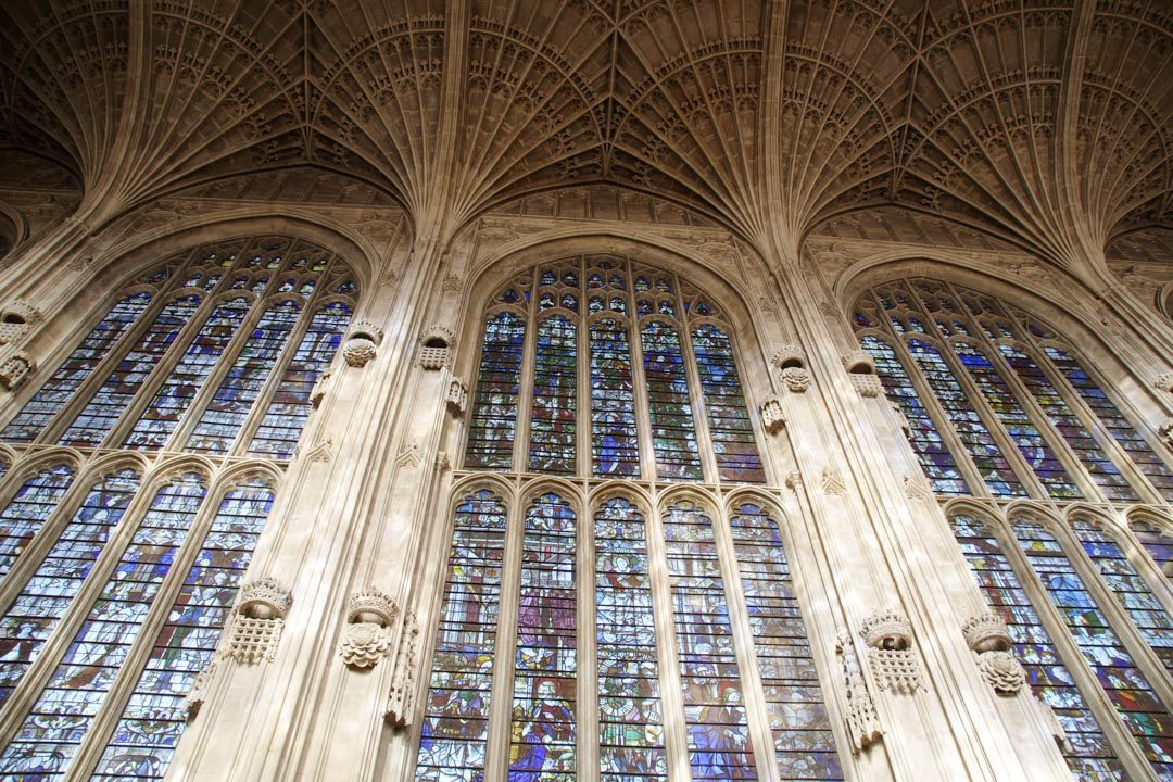 Vitraux de la chapelle de King's College - Cambridge