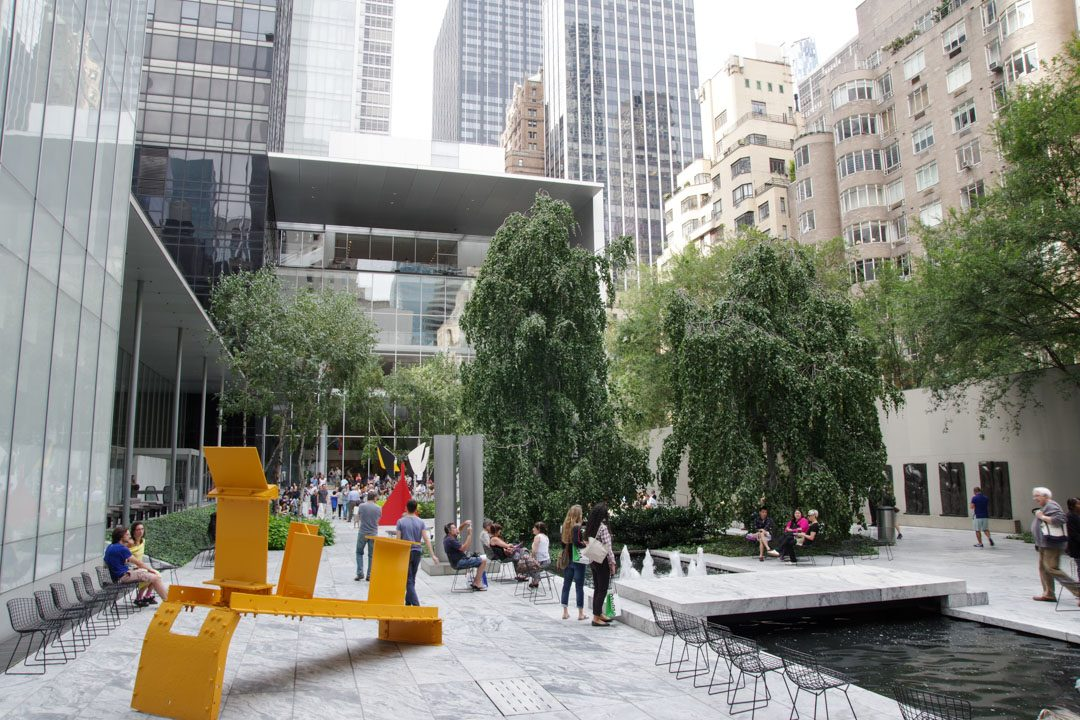 Jardin de sculpture du MoMA - New York