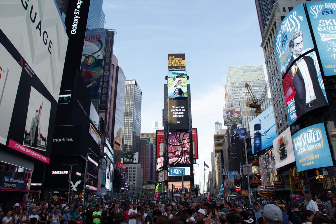 Time Square de Jour - New York