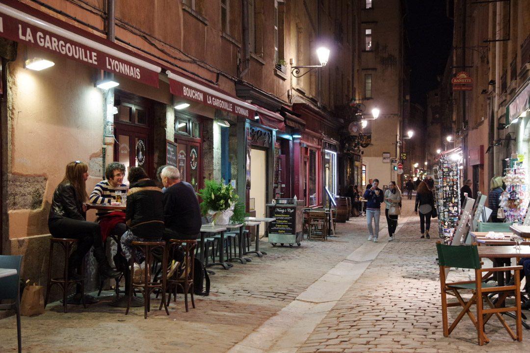 les bouchons de la rue Saint Jean - Vieux Lyon