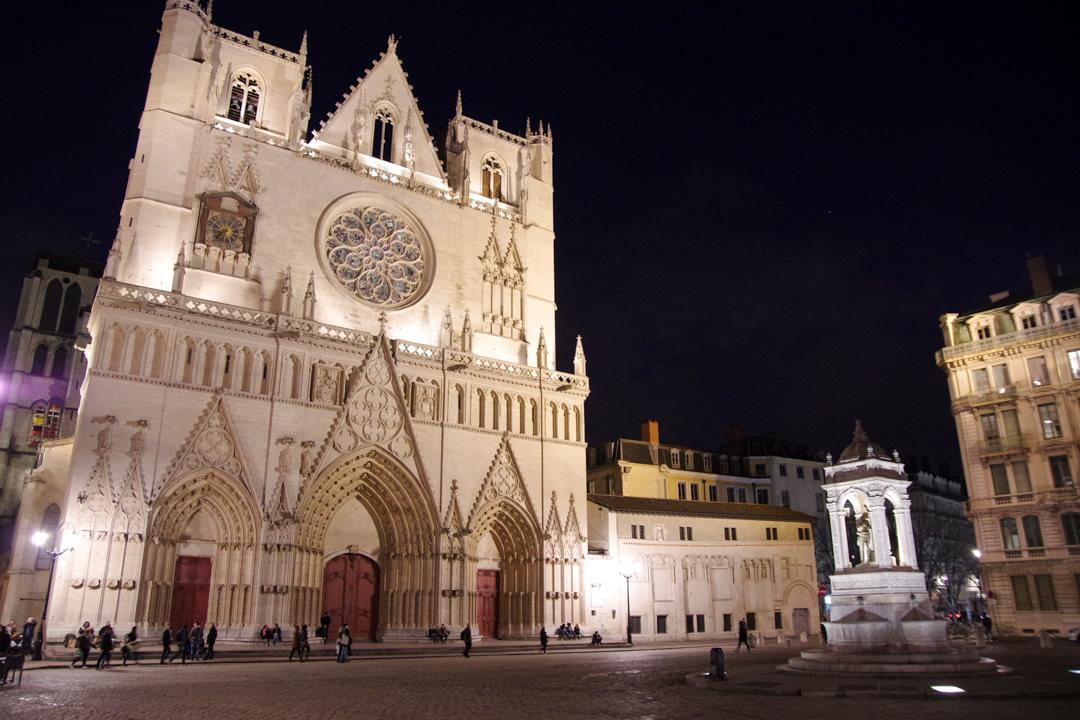 Balade nocturne dans le Vieux Lyon