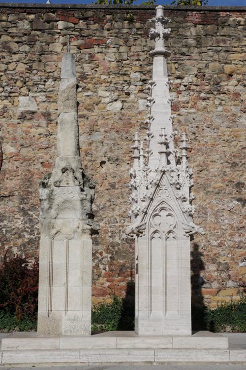 Erosion de la pierre de la cathédrale