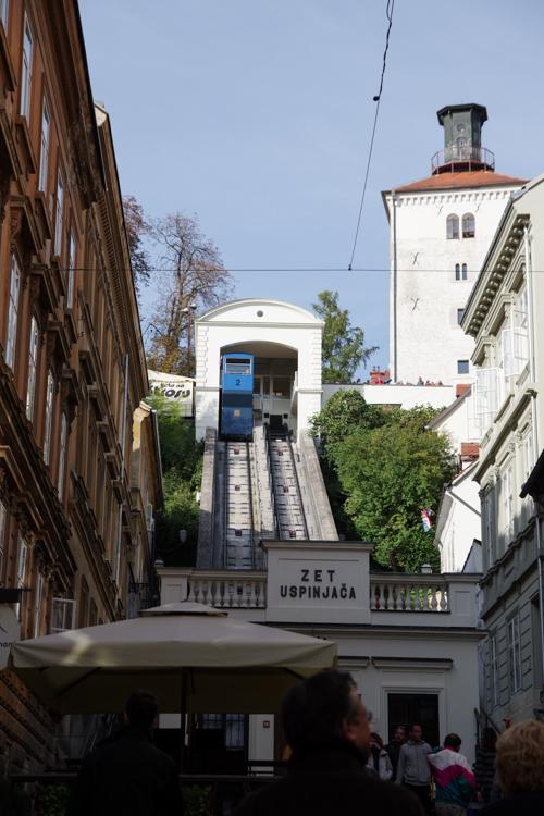 Le funiculaire de Zagreb est le plus petit du monde