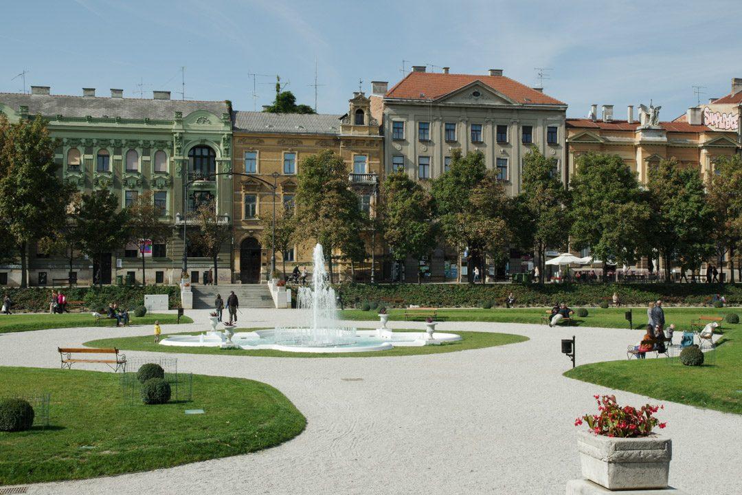 Quartier du Fer à Cheval - Zagreb en Croatie