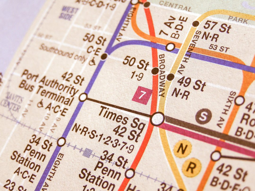 Plan du métro de New York
