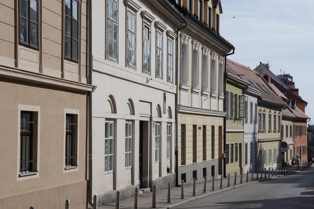 Rue du centre ville de Zagreb