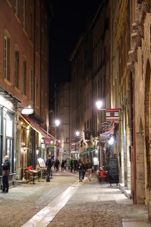 Rue Saint Jean - Vieux Lyon