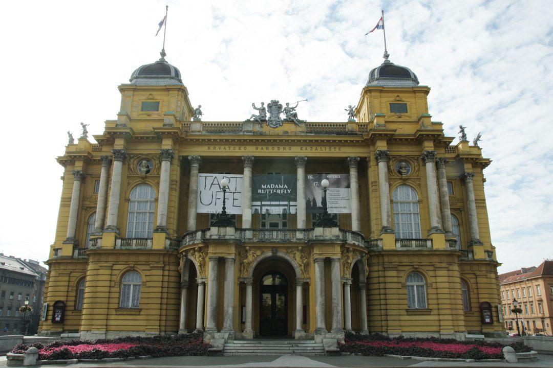 Théatre National de Croatie - Zagreb