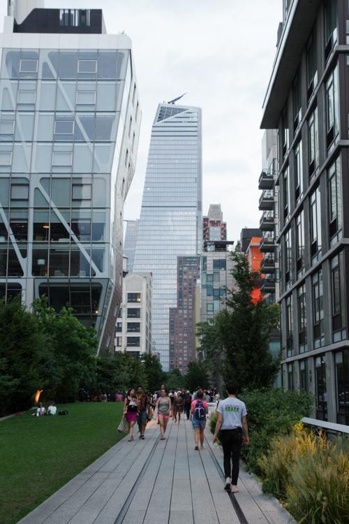 Balade sur la High Line - New York