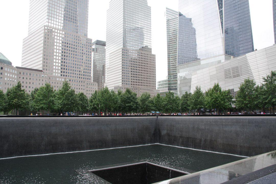 Les fontaines du memorial du 9/11 - New York
