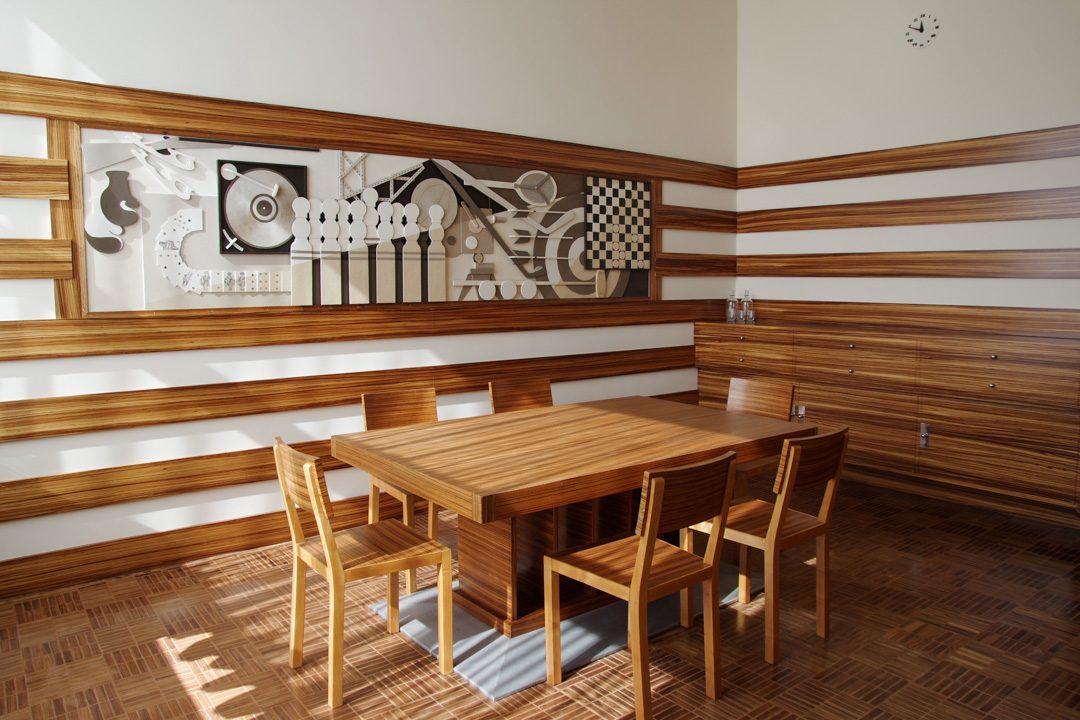 Salle à manger des enfants - Villa Cavrois