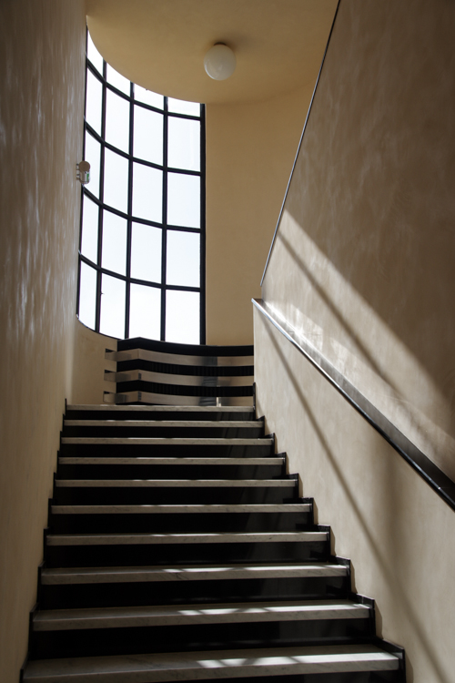 Escalier - Villa Cavrois