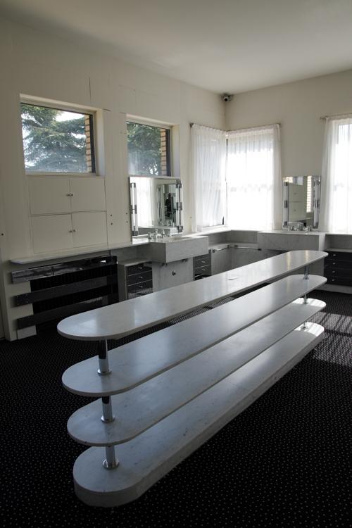 la salle de bain des parents - villa Cavrois