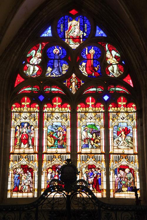 Vitraux de la cathédrale de Bayeux