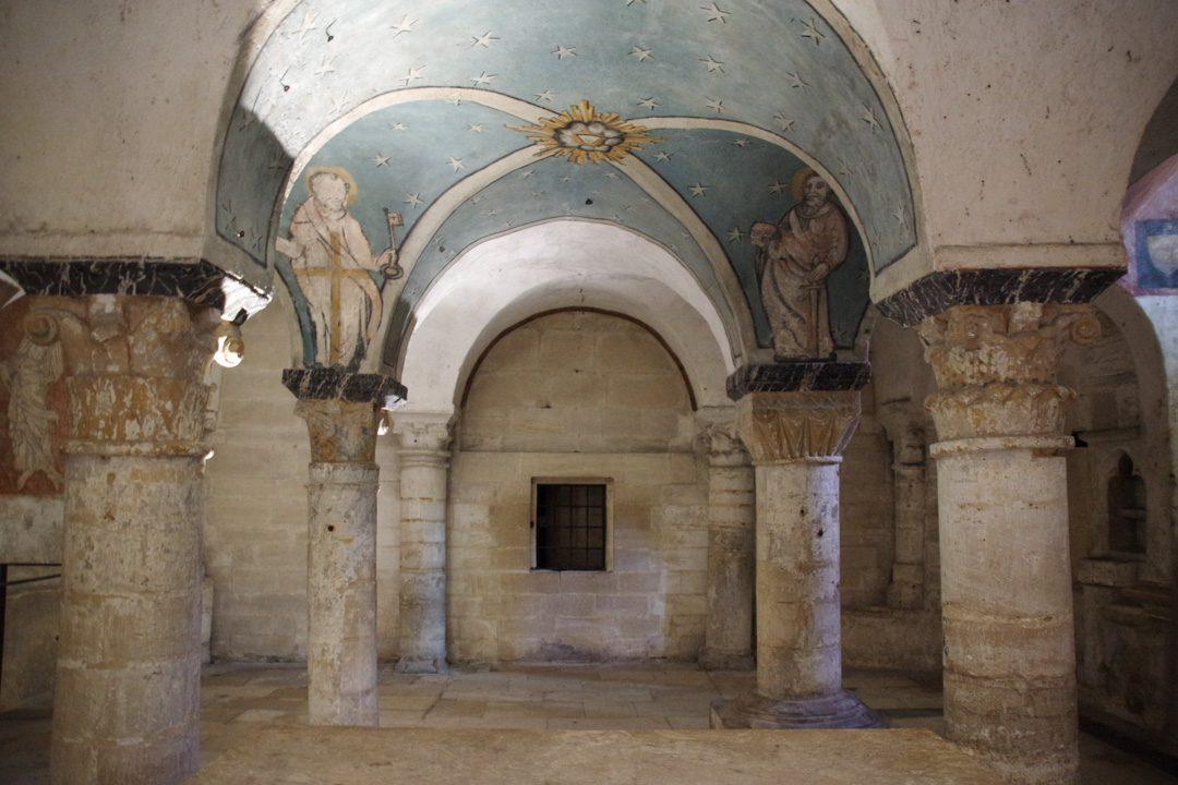crypte de la cathédrale de Bayeux